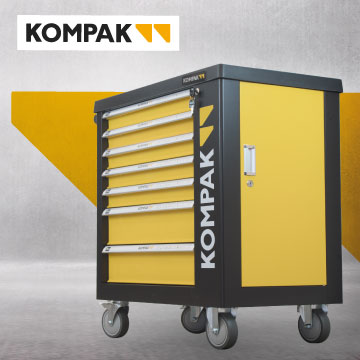 Carro de herramientas Kompak