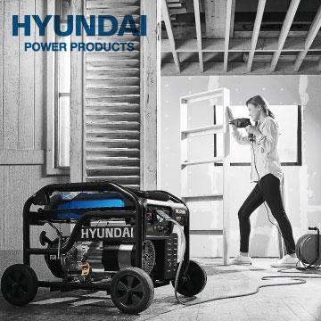 Generadores Gasolina y Diésel Hyundai